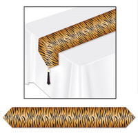 TIGER PRINT TABLE RUNNER