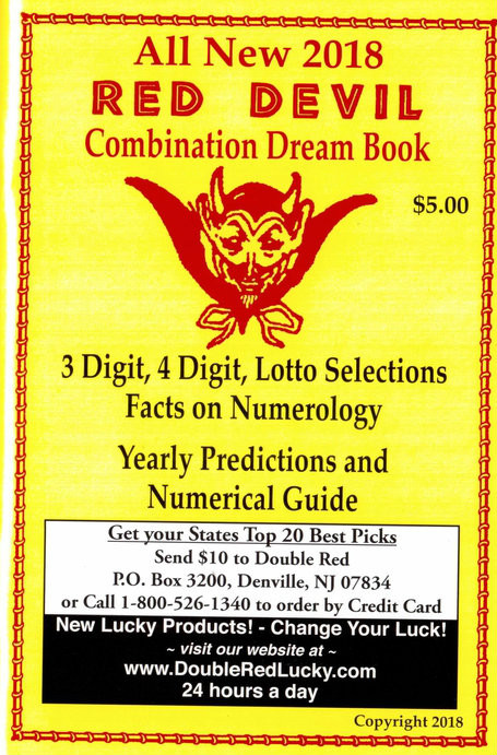 Red Devil Numerical Dreambook 2019