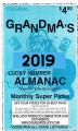 2019 Grandma's Lucky Number Almanac 2019