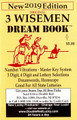 2019 3 Wise Men Dream Book Pocket Edition 2019
