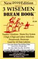 2019 3 Wise Men Dream Book Pocket Edition 2019