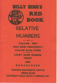Billy Bing's Red Book of Relative Numbers