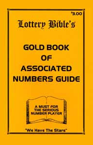 Lottery Bible Gold Book Associates Number Book