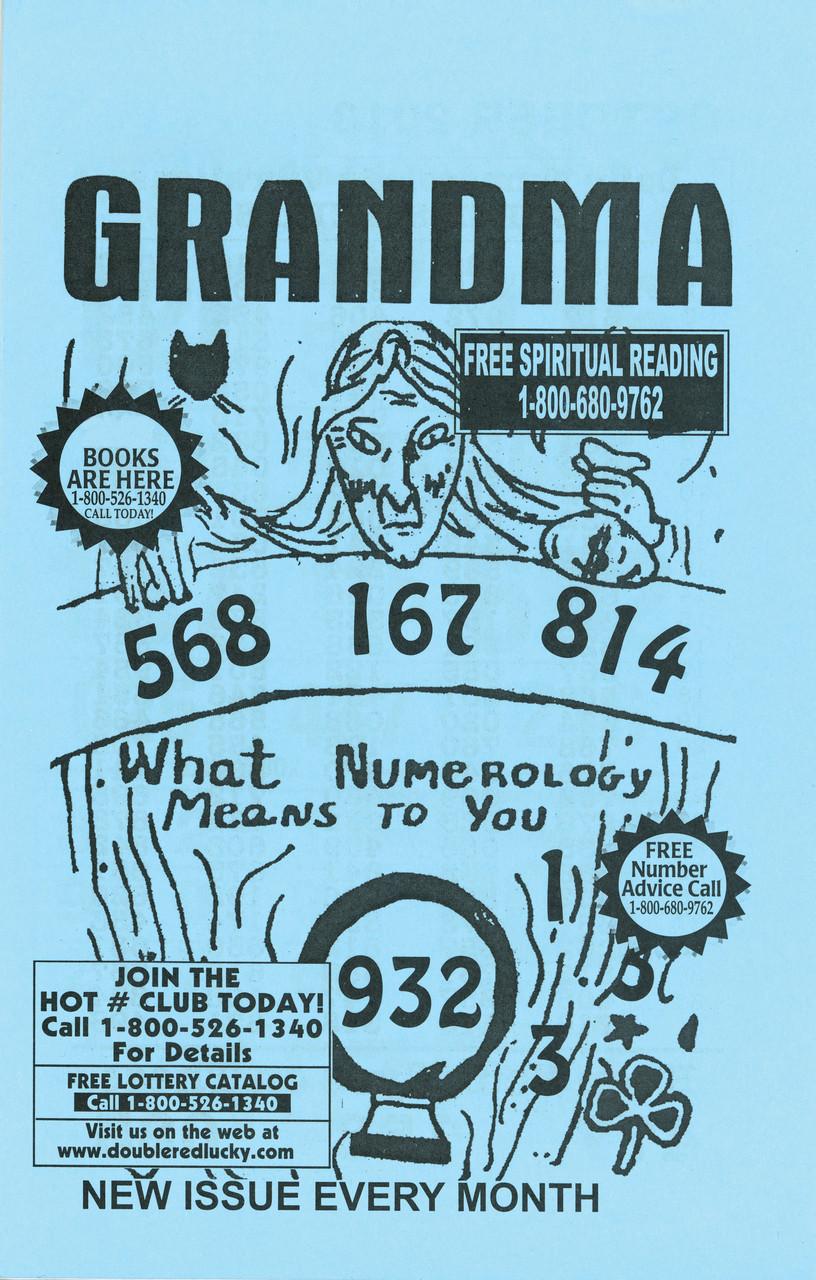 Grandma 3 Digit