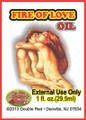 "Fire of Love Oil 1 fl. oz.""CLOSEOUT"""