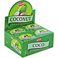 Coconut Incense Cones 10pk