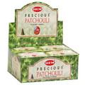 Precious Patchouli Incense Cones 10pk