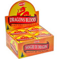 Dragon's Blood Incense Cones 10pk