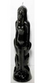Black Woman Image Candle 8""