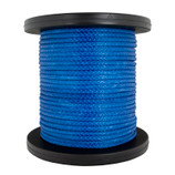 "Amsteel Blue 9/16"" Synthetic Rope by the Foot - 36,500 lbs"