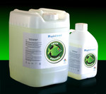 Green Piranha strips powder coats fast.  No methylene chloride and meets California air quality standards for low VOCs