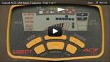 Garrett Ace 250 Metal Detector Training 1