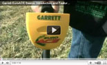 Garrett EuroAce Metal Detector Training Basics 1