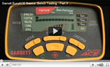 Garrett EuroAce Metal Detector Training Basics 3