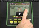 Garrett GTI 2500 Metal Detector Training 5