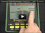Garrett GTI 2500 Metal Detector Training 2
