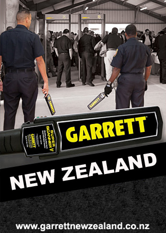Garrett Metal Detectors New Zealand