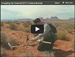 Garrett GTI 2500 Metal Detector Training Imaging
