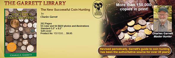 Garrett Metal Detectors New Coin Hunting Book