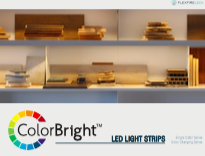 Accent lighting ColorBright LED Strip Light Brochure