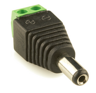 Male DC connector 2.5