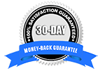 Myosource Guarantee Seal - 100% Satisfaction Guaranteed and 30-Day Money Back Guarantee