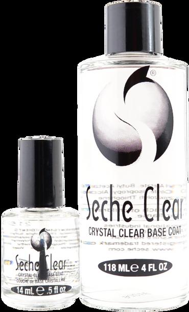 Seche Vite 4 oz. Seche Clear Base Coat + Bonus 0.5 oz. Bottle