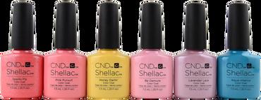CND Shellac 6 pc CND Shellac Flirtation Collection