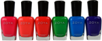 Zoya 6 pc Ultra Brites Neons Collection