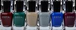 Zoya 6 pc Urban Grunge One Coat Creams Collection