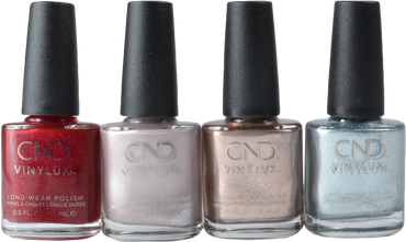Cnd Vinylux 4 pc Night Moves (Holiday 2018) Collection
