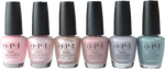 OPI 6 pc Always Bare For You Collection