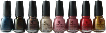 China Glaze 8 pc Gone West 2019 Collection