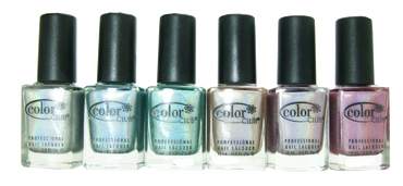 Color Club 6pc Holo Hues Holographic Collection
