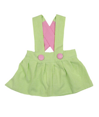 Green and Pink Charlotte Dress