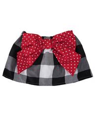Black/Red Skirt