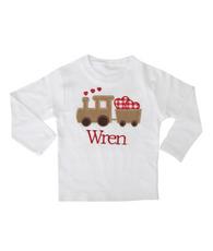 Train Heart Shirt