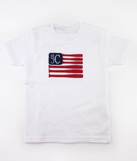 Baseball bat flag t-shirt