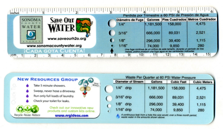 Educational Water Rulers