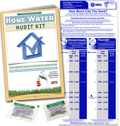 Home Water Conservation Kit