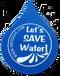 Water saving themed water drop eraser