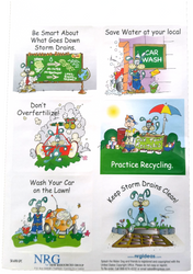 Splash the Water Dog Conservation Stickers | Series 3 | Fun Educational product for all ages!