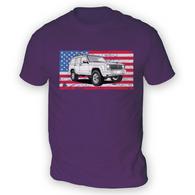 American XJ Mens T-Shirt