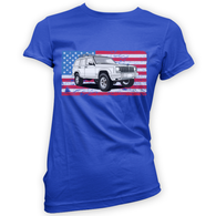 American XJ Womans T-Shirt