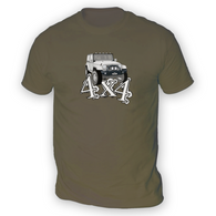 4x4 JK Mens T-Shirt