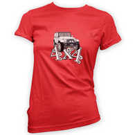 4x4 JK Womans T-Shirt