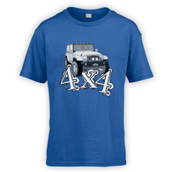 4x4 JK Kids T-Shirt