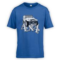 4x4 JK Kids T-Shirt