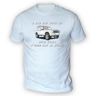 Bad Day With My XJ Beats Work Mens T-Shirt