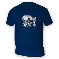 4x4 XJ Mens T-Shirt